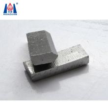 Sample test diamond concrete segment for wet drilling  core bit