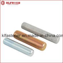 Liga de aço / aço rosca parafusos de haste B7 B7m