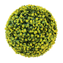 New design removable outdoor decorative artificial boxwood ball for sale