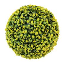 Новый дизайн съемный напольный декоративный искусственный самшит шар для продажи