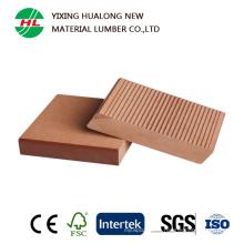 Sol extérieur solide WPC avec haute qualité (HLM128)