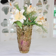 Lead free glass decoration vase