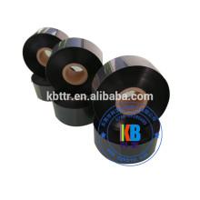 impression d'étiquettes de vêtements compatible laver ruban d'imprimante à encre thermique noir