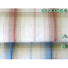 Mans Polyester Cotton Yarn Dyed Shirt Fabric Djx044