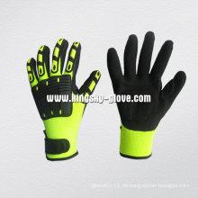 Hi-Viz Farbmechaniker Nitril Palm TPR Handschuh-5054