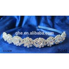 Neue Art und Weisegroßverkauf Rhinestonehochzeits-Brauttiara