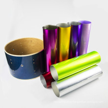 PVC Drum Wrap Sparkle PVC Material Sheet Roll in High Quality