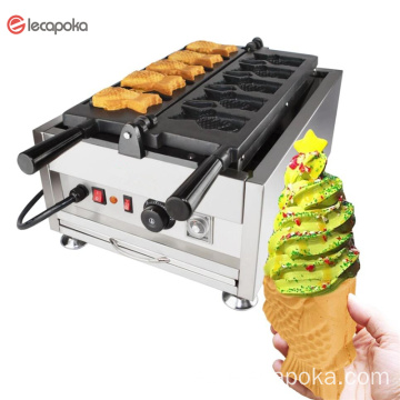 Japanses Boca Abierta Taiyaki Making Maker