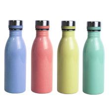 New Arrival Wide Mouth Water Bottles Single Walled 18/8 Stainless Steel Sport Bottle 500ml