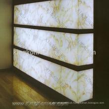 Indoor Deco transparent solid surface Stone