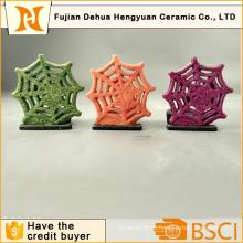 Керамический держатель для свечи Christams Snowflake, Домашнее украшение