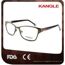 2017 женщин оптические очки, популярные петли металлические очки