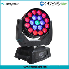 19 * 15W RGBW Zoom LED Moving Head Sky Beam Licht