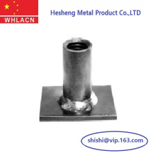 Baustoffe Beton-Flachstahl-Hebe-Sockel