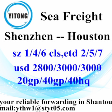 Shenzhen Professinal Ocean Freight Services di Houston