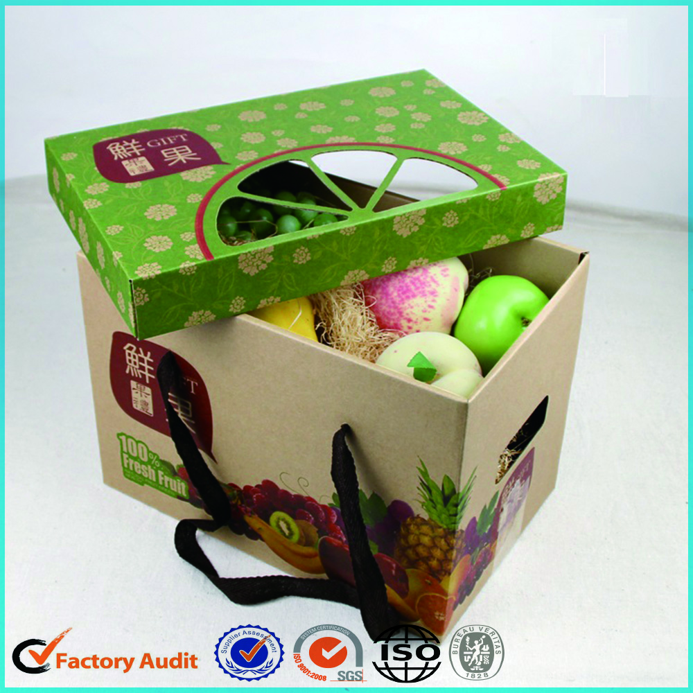 Luxury Fruit Carton Boxes Apples Strawberries