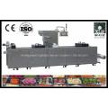 Dlz-460 Máquina embaladora a vácuo de carne extensível totalmente automática e contínua
