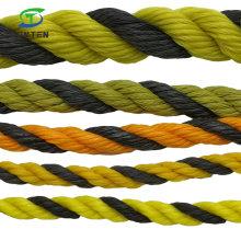 PE/HDPE/Nylon/Polyethylene/Warning/Plastic/Fishing/Marine/Mooring/Packing//Braided/Twist/Twisted Tiger Safety Rope