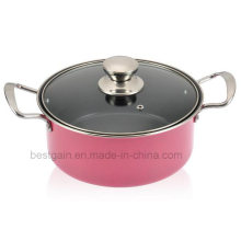 Pot à soupe en acier inoxydable