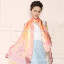 Noble Fashion Women's Long Soft Wrap Lady Shawl Silk Chiffon Scarf