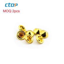 Factory Wholesale Price Press Metal Snap Button Custom Bag Mushroom Rivets For Garment