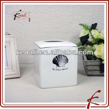 Коробка из керамической ткани из морской ракушки