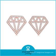 Genuine 925 Silver Styles of Earrings Jewelry (E-0249)