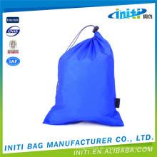 Förderung 100% billige benutzerdefinierte Wildleder Drawstring Tasche