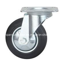 "Europe Type Industrial 8 ""Rubber Wheels"