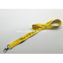 Flat Polyester Silk Screen Lanyards 2.0cm Lanyards