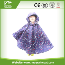 2016 Niños Eco Friendly Rain Poncho PVC