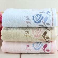 Custom Cotton Towel with Embroidered Logo (AQ-001)