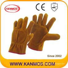 Cow Split Industrial Safety Drivers Leather Work Gloves (11202)