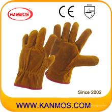 Корова Сплит Промышленная безопасность Драйверы Кожаные рабочие перчатки (11202)