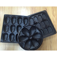 China Factory Price Wholesale Ireland Best Selling Thermoformed Blister Oyster Packaging Plastic Oyster Serving Platter Tray for Seafood Packaging Industry