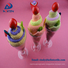 wholesalers china factory bulk ice cream souvenir birthday towels