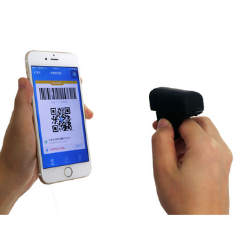 Drahtloser Bluetooth Finger Android Ring Barcode Scanner