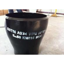 Reductor de tubo concéntrico tipo ASTM A234WPB