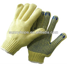 Pvc punktierter Handschuh ideal für die Metallherstellung