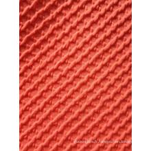 Tissu tricoté jaquard à couche d'air épaisse