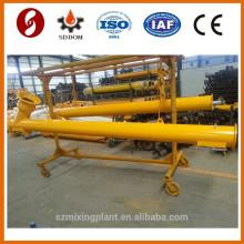 Transportador de parafuso de mistura de betão, transportador de parafuso de cimento a granel