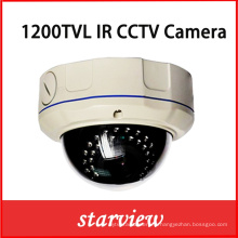 1200tvl IR Vandalproof IR CCTV Dome caméra de sécurité (D14)