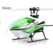 ¡Nueva llegada! WL V988 2.4G 4CH solo helicóptero de la lámina RC, helicóptero rc
