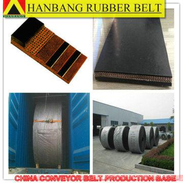 mobile conveyor belt crushing