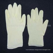powder free latex glove