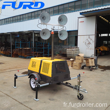 Long working hours tower light with generator FZMT-1000B