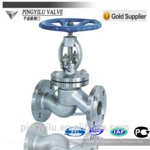 Válvula de globo de aço fundido PN 16-100 válvula de globo de aço inoxidável padrão fabricante válvula de água adaddin china