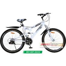 Bicicleta de montaña de doble suspensión (MK14MT-26234)
