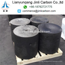 China cheap price arc furnace use carbon electrode paste cylinders/soderberg electrode paste cylinders