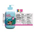 Benutzerdefinierter Aufkleber Plastikflasche Kosmetiketikettendruck